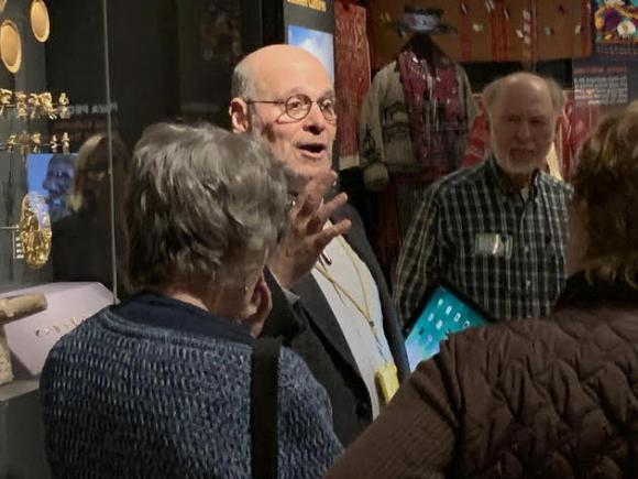 Member Leading Tour of Penn Museum Gallery